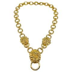 KENNETH JAY LANE KJL Necklace Vintage 1980s