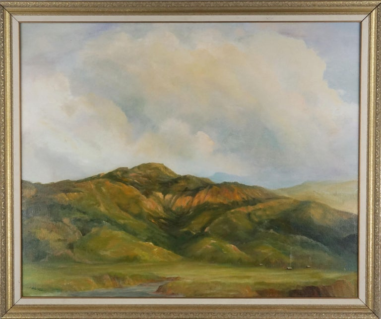 Kenneth Lucas Landscape Painting - California Central Coast Foothills Landscape