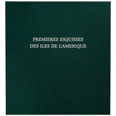 Kenneth White Yasse Tabuchi Premieres Esquisses des Iles De L'amerique Book 1990