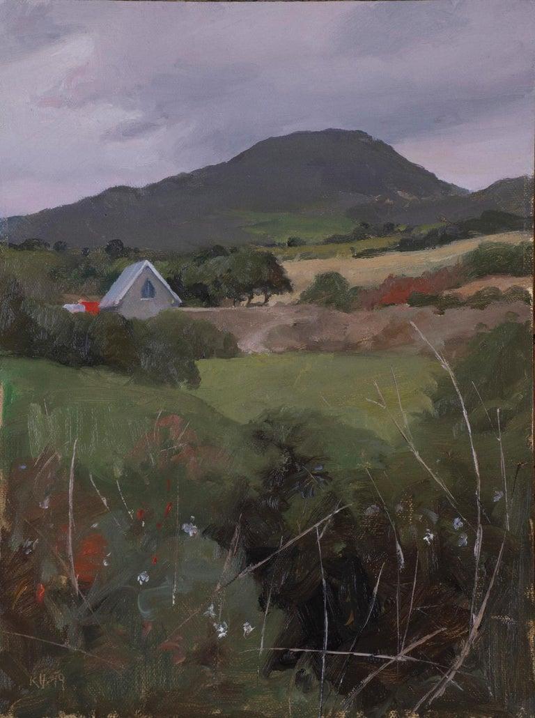 kenny harris Landscape Painting - West Cork Landscape (Ahakista)