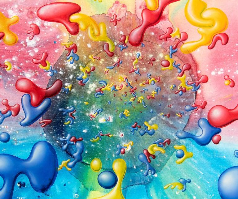 Kolorbz - Street Art Painting by Kenny Scharf