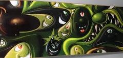 Kenny Scharf Skateboard Deck (Kenny Scharf Pop Art)