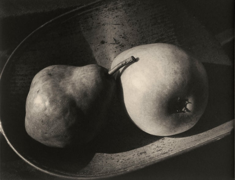 Unframed - matted on an off-white archival matt include  (The overall wall size composition of the two images is 14in H x 26 in W)  1- Still Life #108, 1991 by Kenro Izu image size: 9 in. H x 10.75 in. W Sheet size: 12.25 in. H x 14.63 in. W.  2-