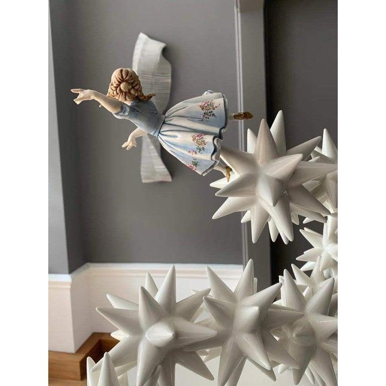 Kensington Andrea Salvatori, White Ceramic Sculpture 21st Century Contemporary In New Condition For Sale In London, GB