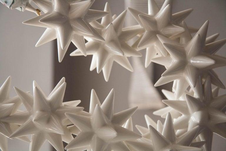 Kensington Andrea Salvatori, White Ceramic Sculpture 21st Century Contemporary For Sale 1
