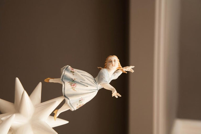 Kensington Andrea Salvatori, White Ceramic Sculpture 21st Century Contemporary For Sale 2
