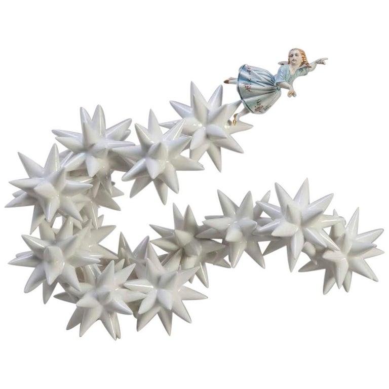 Kensington Andrea Salvatori, White Ceramic Sculpture 21st Century Contemporary For Sale