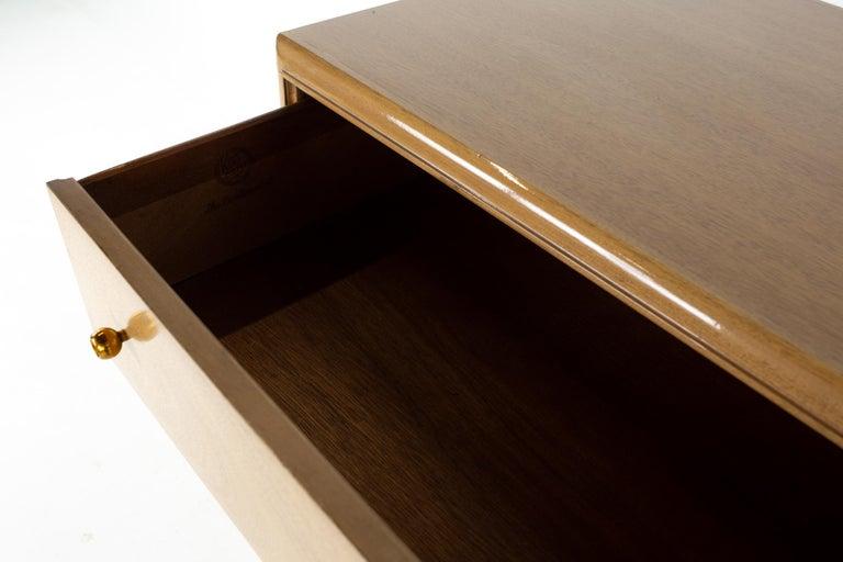 Kent Coffey Continental Mid Century 5 Drawer Highboy Dresser For Sale 3