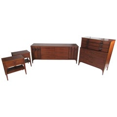 "Kent Coffey ""Perspecta"" Bedroom Set"