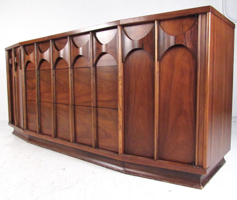 American Kent Coffey Perspecta Dresser in Rosewood and Walnut For Sale