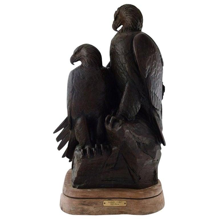 "Kent Ullberg, Swedish-American Sculptor, ""Eagles Point"", Monumental Sculpture For Sale"