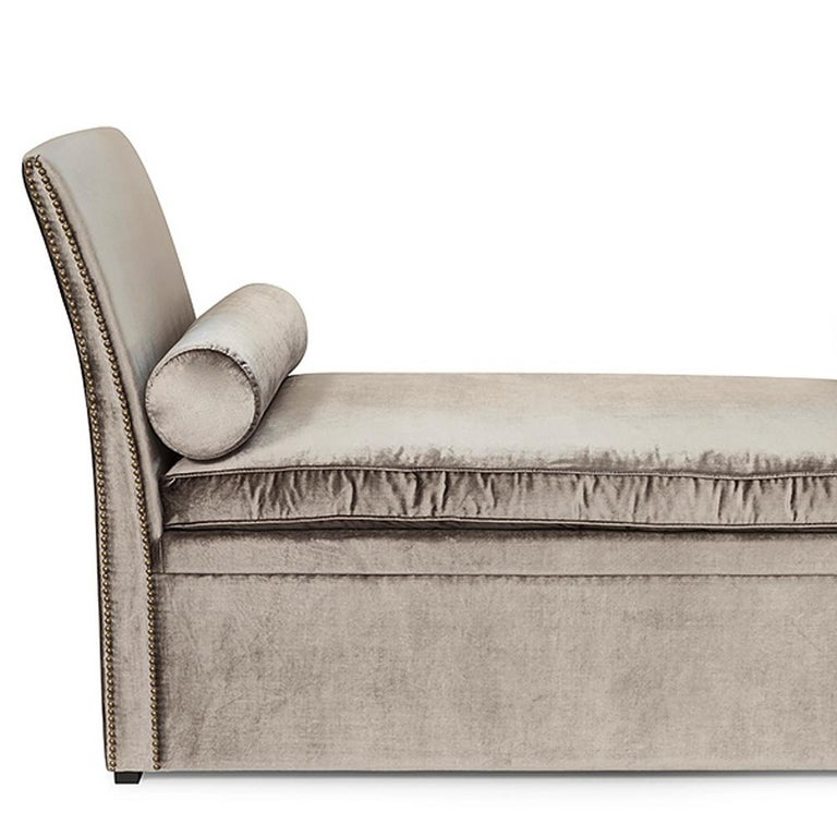 Sofa Kentuky with structure in solid wood and