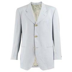 Kenzo Mens Vintage Silk & Linen Blazer
