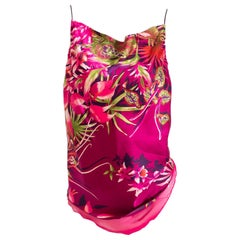 Kenzo Paris Vintage 70 Women's Silk Tank Top. Size 40