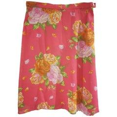 Kenzo Pink Skirt