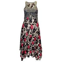 Kenzo Silk Knit Summer Dress
