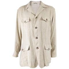 Kenzo Vintage Mens Linen Jacket