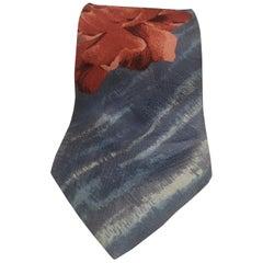 Kenzo Vintage multicoloured silk tie