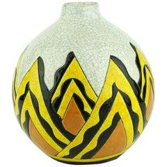 Keramis Boch Abstract Vase