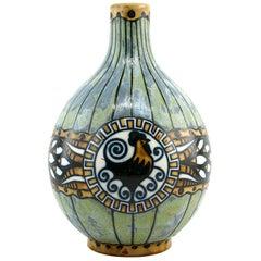 Keramis, Charles Catteau, Stoneware Vase, 1920