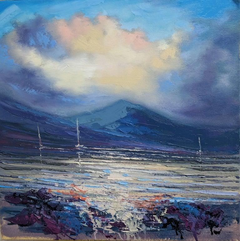 f22dadde6 Kerr Rodgie - Loch Nevis Sails original landscape painting, Painting ...
