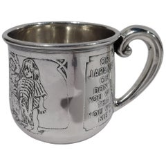 Kerr Sterling Silver Baby Cup Rich in Turn-of-the-Century Assumptions