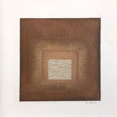 """Fade I"" - Contemporary Geometric Abstract Paintings - Josef Albers"