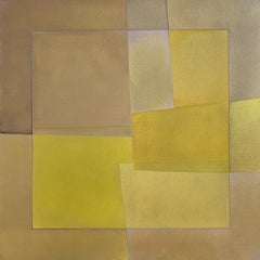 """""""Reactions XXIV"""" - Contemporary Geometric Abstract Paintings - Josef Albers"""