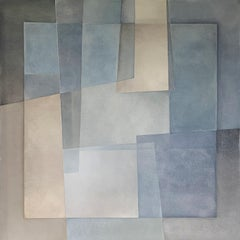 """""""Reactions XXIX"""" - Contemporary Geometric Abstract Paintings - Josef Albers"""