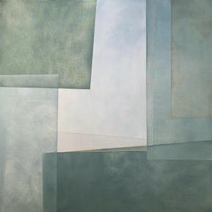 """""""Reactions XXX"""" - Contemporary Geometric Abstract Paintings - Josef Albers"""