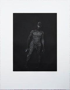 "Kerry James Marshall-Untitled (Frankenstein)-24.5"" x 19""-Etching-2010"
