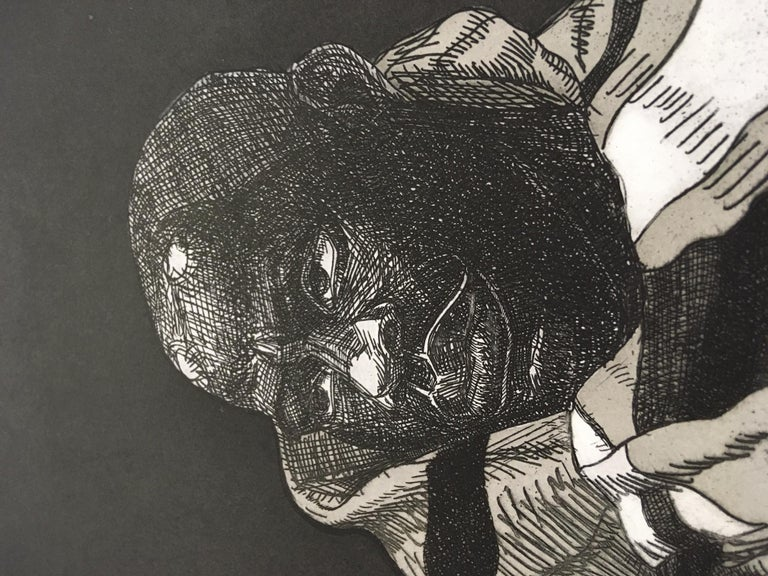 Kerry James Marshall-Untitled (Handsome Young Man)-24.5