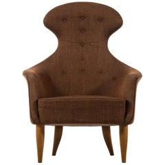 Kerstin Hörlin-Holmquist Stora Eva Easy Chair by Nordiska Kompaniet in Sweden