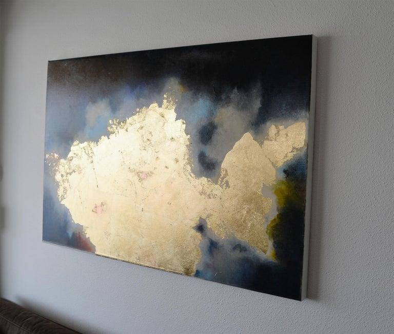 Atlantica - Abstract Mixed Media Art by Kerstin Paillard