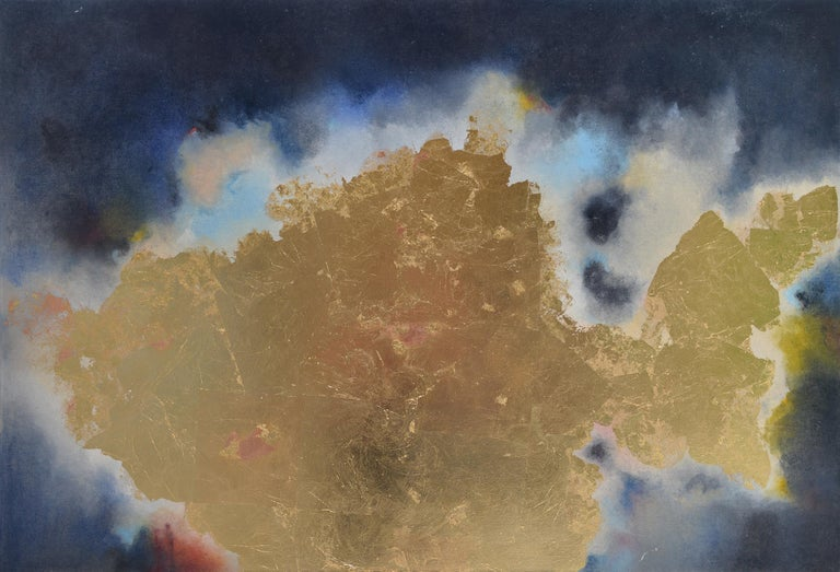 Atlantica - Mixed Media Art by Kerstin Paillard