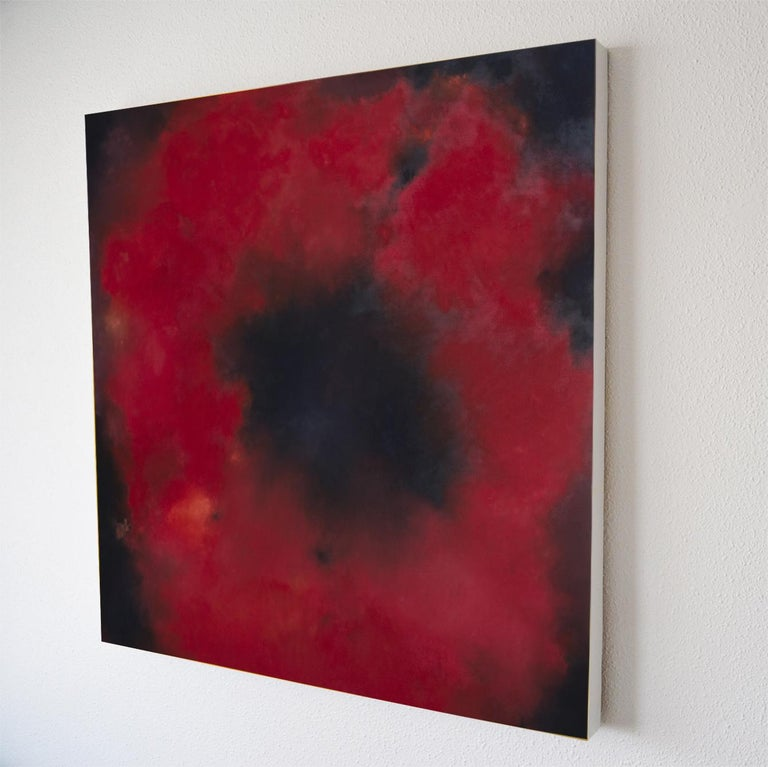 Papaver Rhoeas - Abstract Painting by Kerstin Paillard