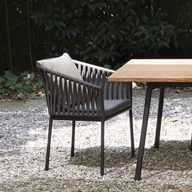 Kettal Bitta Dining Or Lounge Chair For Outdoors By Rodolfo Dordoni For  Sale 3
