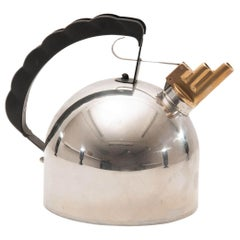 Kettle Model 9091 by  Richard Sapper for Alessi Italy 1983, Chromed Metal