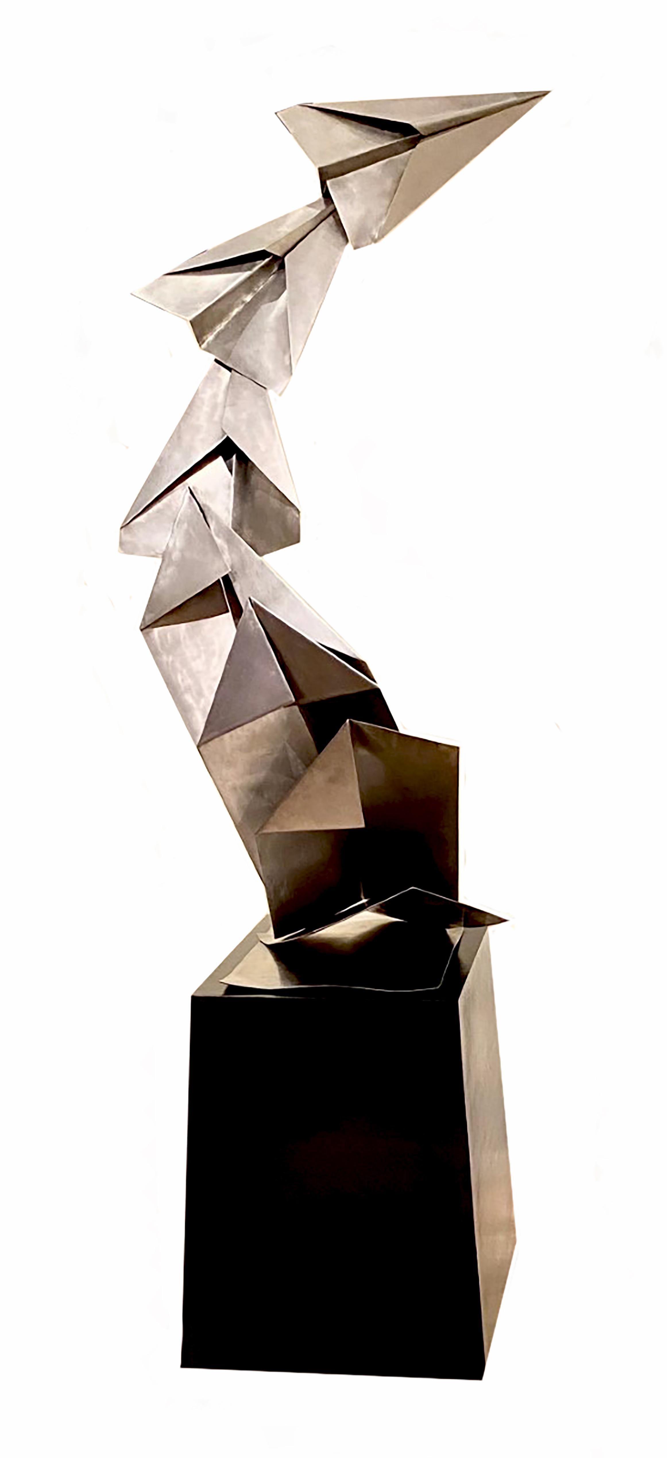 """Unfolding the Magic"" Kevin Box Folding Planes Sculpture"