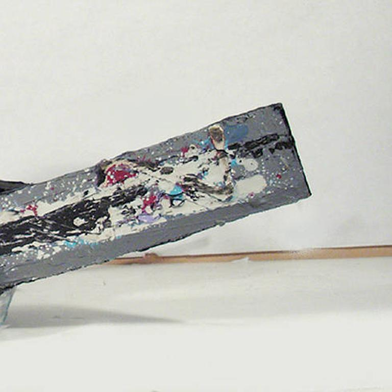 Reggae Curve, Painted Hanging Sculpture by Kevin Cole For Sale 3