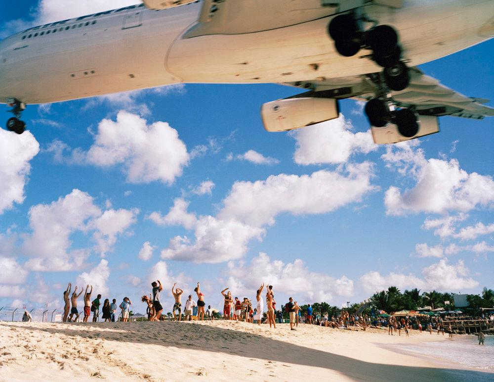 Air France Landing St. Maarten