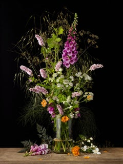 Mixed Summer Plants #2,  Botanical photographic print,  Old Masters Style