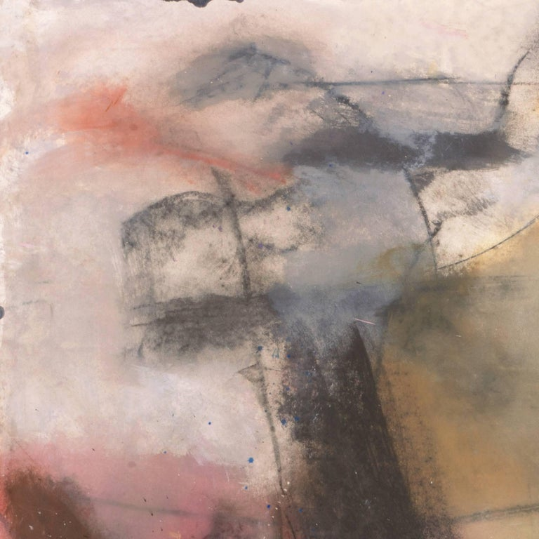 Large Bay Area Oil 'Abstract in Rose and Gold', San Francisco Art Institute For Sale 3