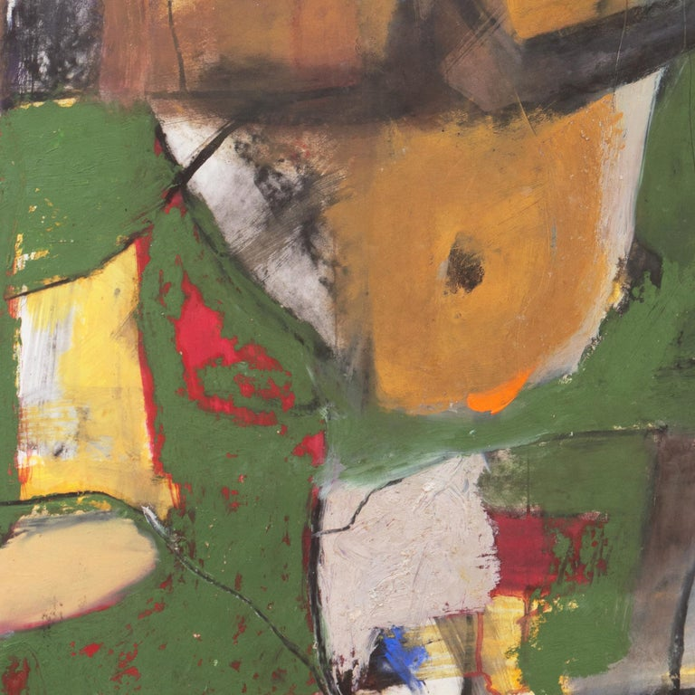 Large Bay Area Abstract Oil 'Hommage à Chagall', San Francisco Art Institute For Sale 3