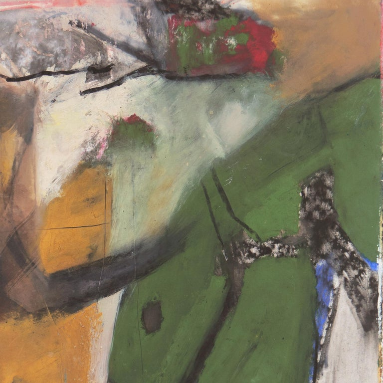 Large Bay Area Abstract Oil 'Hommage à Chagall', San Francisco Art Institute For Sale 5