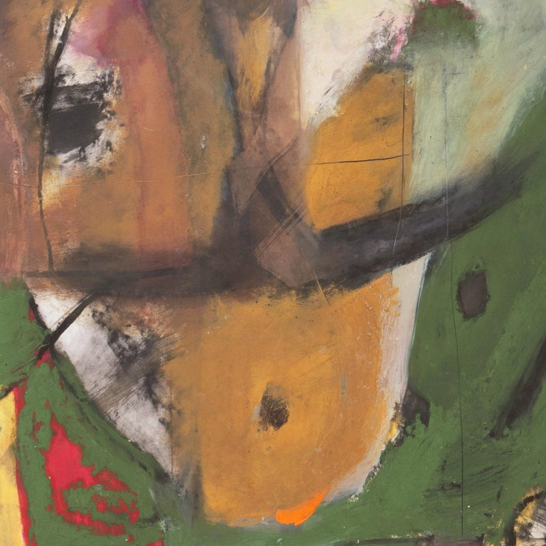 Large Bay Area Abstract Oil 'Hommage à Chagall', San Francisco Art Institute For Sale 6