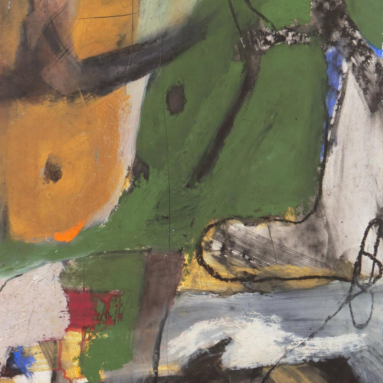 Large Bay Area Abstract Oil 'Hommage à Chagall', San Francisco Art Institute For Sale 7