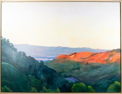 'King's Bluff, La Crosse' original oil landscape painting signed by Kevin Knopp