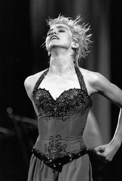 Madonna Throwing Head Back on Stage Vintage Original Photograph