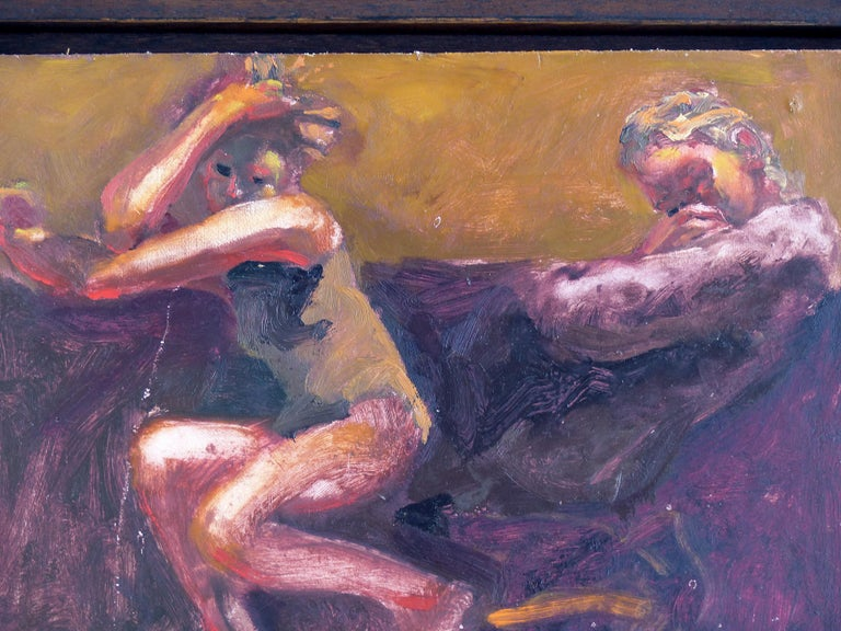 Kevin Sinnott, Oil Painting on Wood Panel Titled